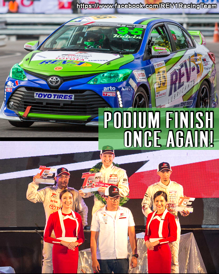 Podium Finish Once Again